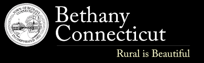Image of Bethany Logo and the words Bethany Connecticut Rural is Beautiful