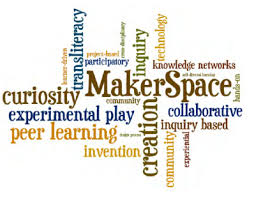 MakerSpace and Associated Words Icon