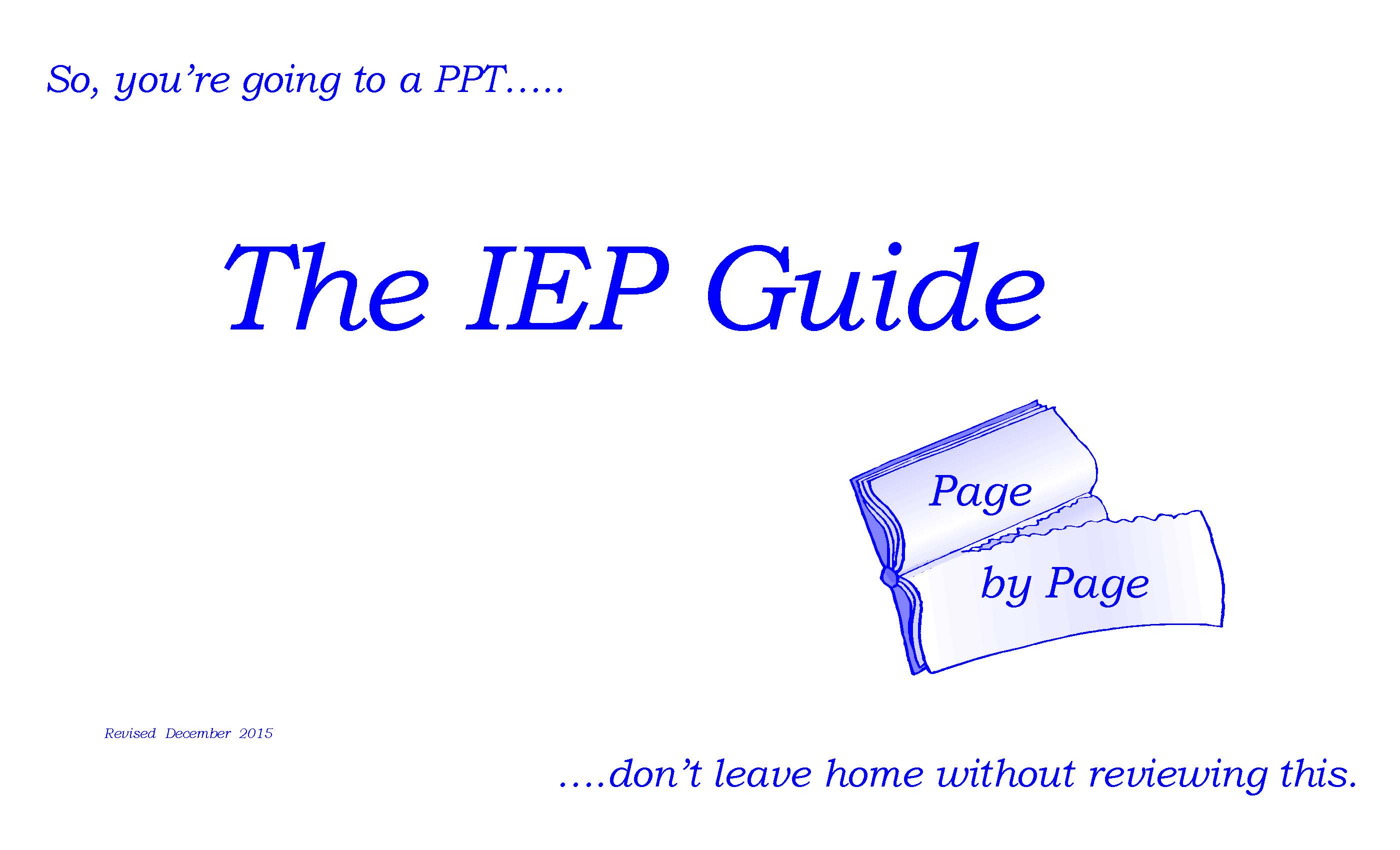 Image of The IEP Guide document