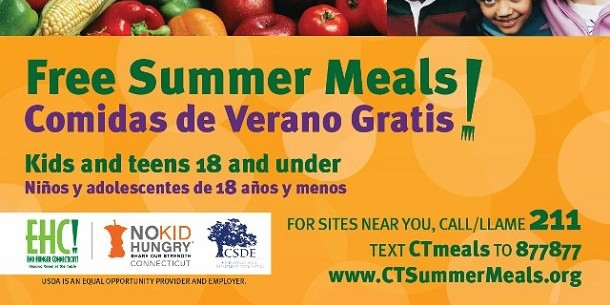 Link to Free Summer Meals for Kids and Teens 18 and under